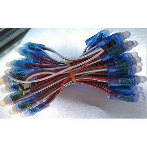 全彩外露灯三线、四线控制器怎么接线?