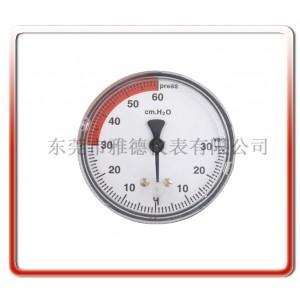 厂家直销动物麻醉机R610微压压力表医用压力表