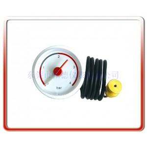优质供应37MM带毛细管水压表壁挂炉水压表毛细管压力表