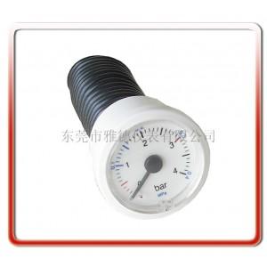 厂家直销出口款37mm水压表燃气壁挂炉水压力表毛细管压力表