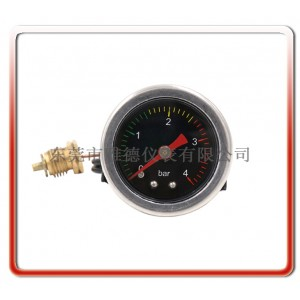 厂家直销40MM带毛细管高温蒸汽压力表奶泡机毛细管压力表