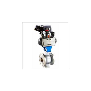 VQ647型(ZSSV系列)气动V型调节球阀,V型气动调节阀