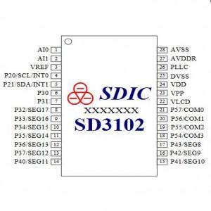 SD3102 单差分通道计量 SOC