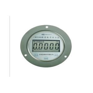 安装盘轴向数字压力表