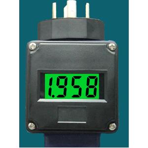 三线制电压变送信号LCD数显表