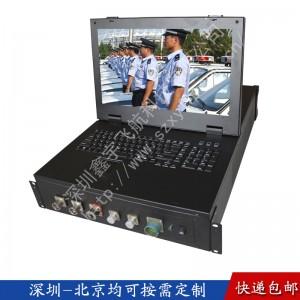 15寸上架式CPCI工业便携机机箱定制加固笔记壳军工电脑