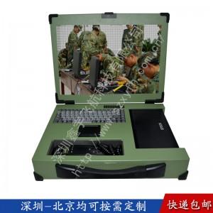 17寸嵌入式电话机箱定制工业便携机机箱军工电脑加固笔记本外壳