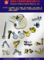 温州市丰鼎紧固件制造有限公司  法兰面螺栓系列 螺母夹片系列 外六角螺栓系列 (1)