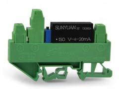 两线制电压信号输入配电型传感器