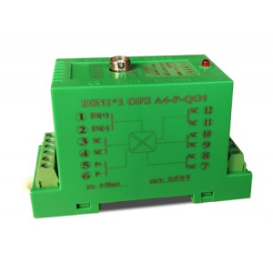 4-20mA转光纤信号可编程隔离变送器(A型光端机