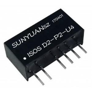 单片机PWM信号转模拟量小体积低成本隔离变送器