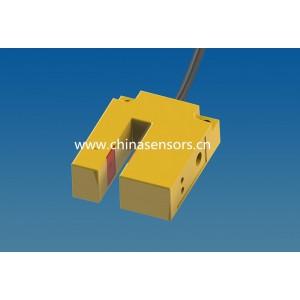 E3S10槽型光电开关 双指示灯 灵敏度调节,模式切换