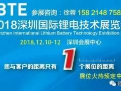 深圳国际锂电技术展  ibte  新能源  锂电 隔膜  铝塑膜  正负极材料  机器人  设备 (4)