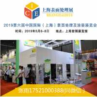 2019第六届中国国际(上海)表面处理及涂装展览会