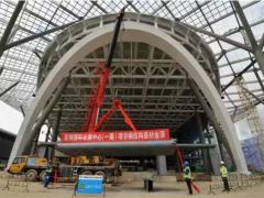 深圳国际会展中心钢结构封顶,将成为全球第一大会展中心