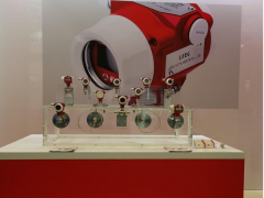 LEEG单晶硅压力变送器参加北京天然气展
