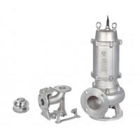 不锈钢精密铸造污水污物潜水电泵(国际法兰)