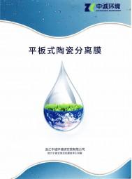 浙江中诚环境研究院有限公司   平板式陶瓷分离膜 电渗析技术 一体化设备 智慧治水云平台 (2)