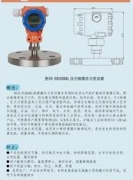 EB2088L型隔膜压力变送器(选型) 上海恩邦