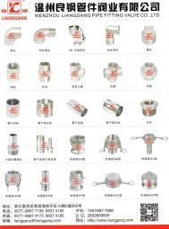温州良钢管件阀业有限公司 白化丝扣管件 抛光丝扣管件 不锈钢快速接头系列 不锈钢阀门 (1)