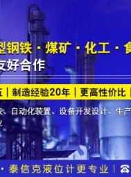 河南泰信克仪表技术有限公司  磁性浮子液位计、金属管浮子流量计、磁敏电子双色液位计、电磁流量计、电极式水位计传感器、压力变送器 (2)