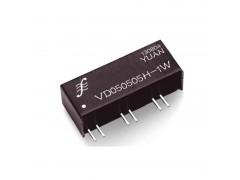 (2:1)宽电压输入1KV隔离2W-5W模块电