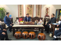 中电环宇(北京)建设工程有限公司董事长到访福瑞德集团