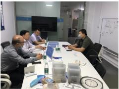 协会领导带队走访深圳市美思先端电子有限公司