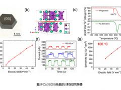 中科院大连化物所研制出基于高温下稳定工作的钙钛矿单晶X射线探测器