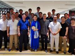 正泰中自总经理黄永忠作杭州市仪器仪表学会十届二次理事会议上半年工作总结