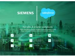 西门子与Salesforce携手打造面向未来的安全工作体验