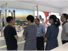 中国仪器仪表协会领导干部亲临上海立格指导工作
