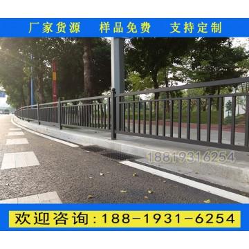 海口城市街道围栏报价 澄迈路边喷涂