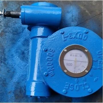 QDX3-7蜗轮蜗杆减速机,DN400蝶阀蜗