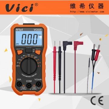 NCV三位半自动量程数字万用表VC835