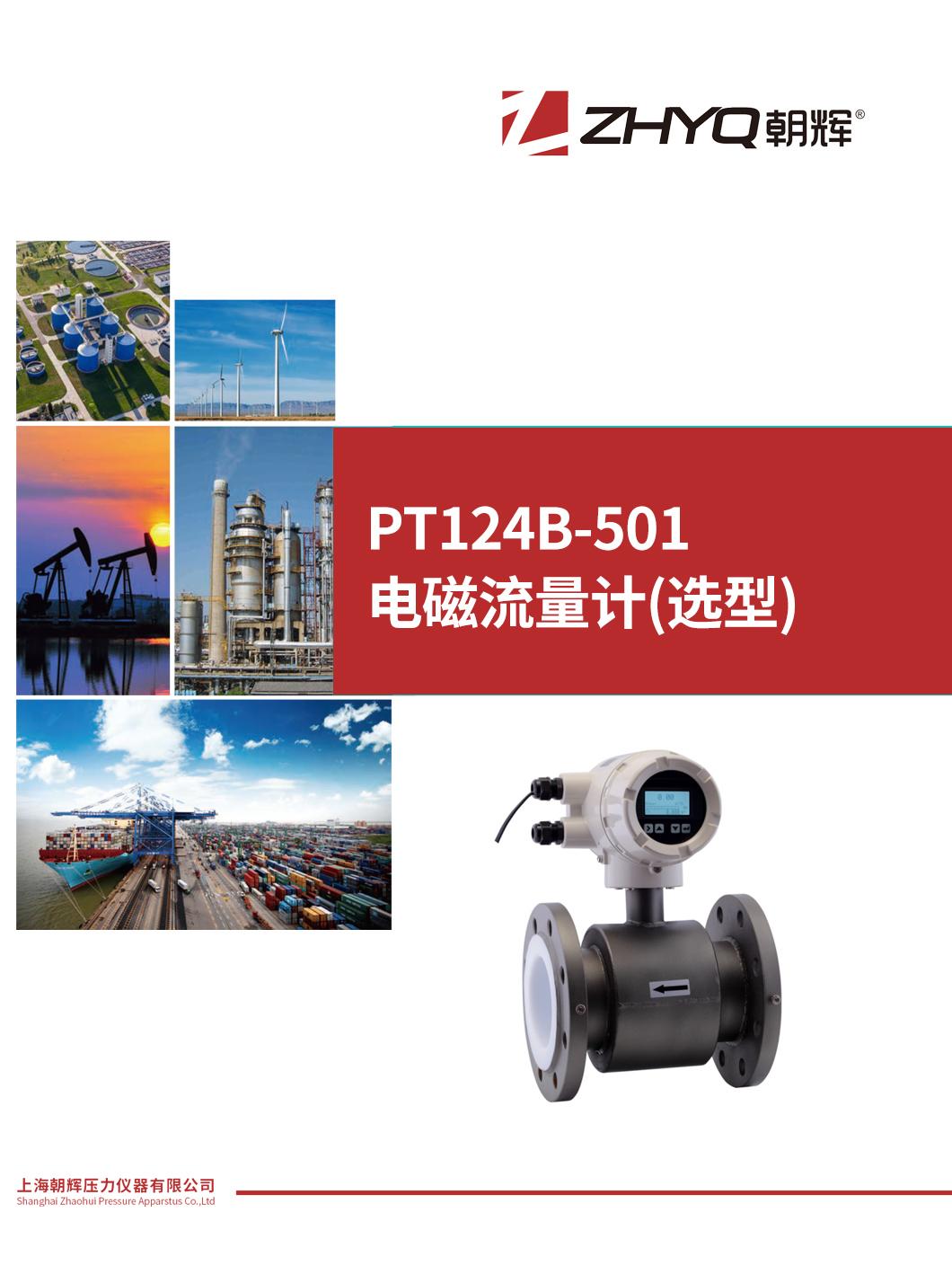 PT124B-501 电磁流量计(选型)_上海朝辉