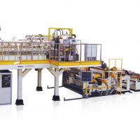 双螺杆免干燥节能型PET/PLA片材生产线