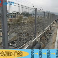肇庆厂房三折弯护栏网 场地分隔围栏网 圈地双边丝护栏网