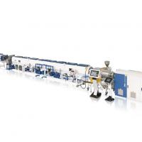 高速节能型HDPE实壁管挤出生产线