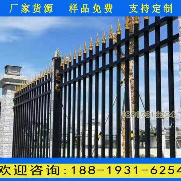 南沙小区烤漆围墙栏杆定做 惠州工厂