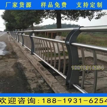 河源桥梁防撞围栏款式 河道护栏厂家