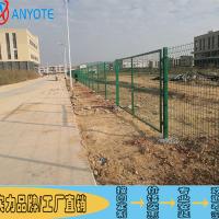 霞山机场铁丝网批发 雷州高速公路护栏网 湛江学校防攀爬护栏网