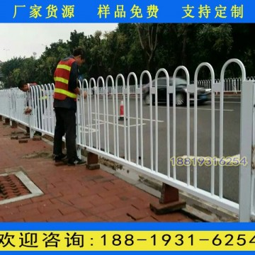海南机非隔离栏杆生产厂家 道路中央
