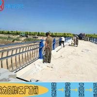 定制304景观不锈钢围栏 江门桥梁金属栏杆 河道护栏图集