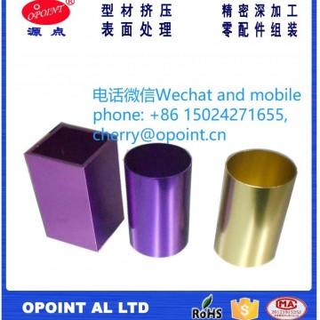氧化铝合金管挤压铝型材加工