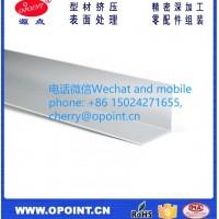 铝角挤压铝型材铝配件加工