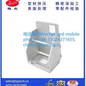 打印机铝制零配件小车电机盒