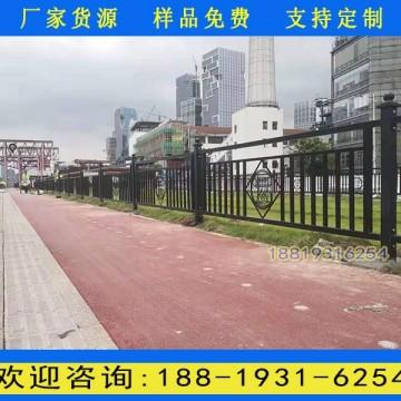 广州市区人行道护栏图片 市政道路防