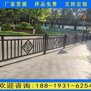 广州市政街道防护栏杆工厂 人行道护