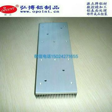 定制加工医疗器械散热器铝配件